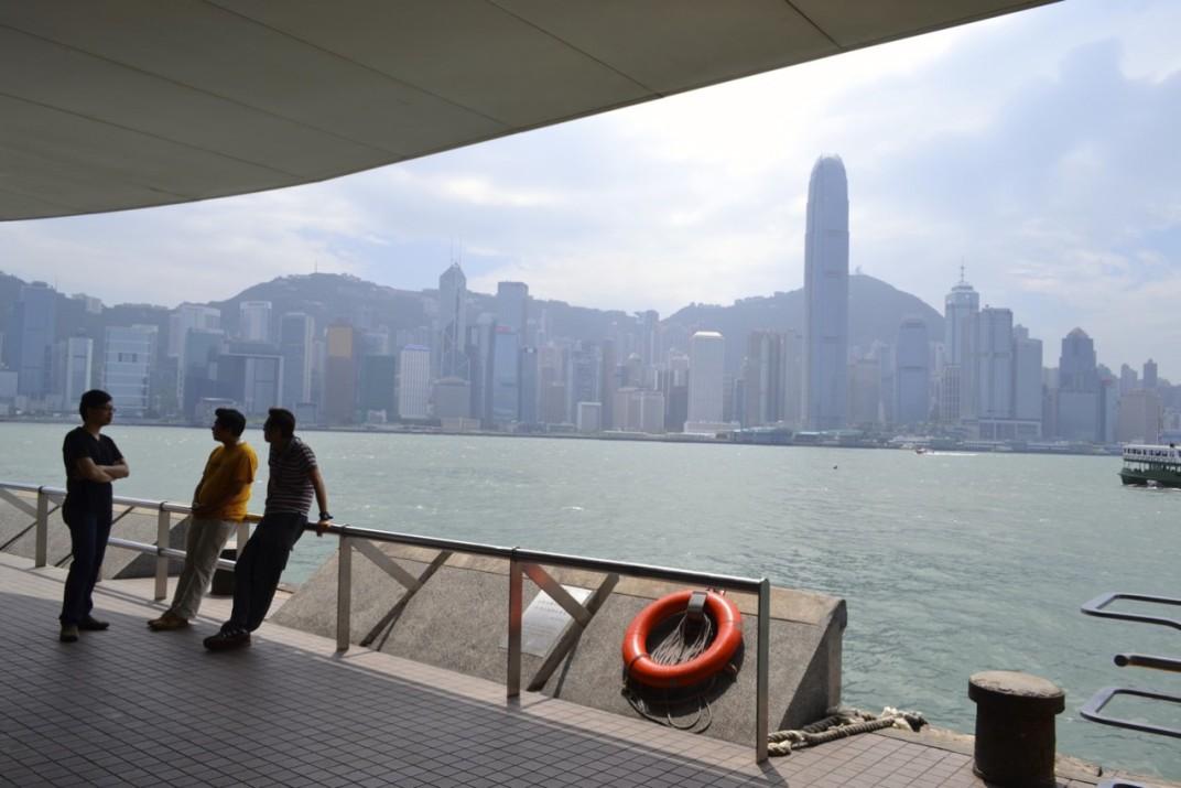 Hong Kong waterfront
