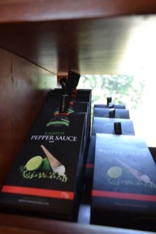 Kampot pepper sauce