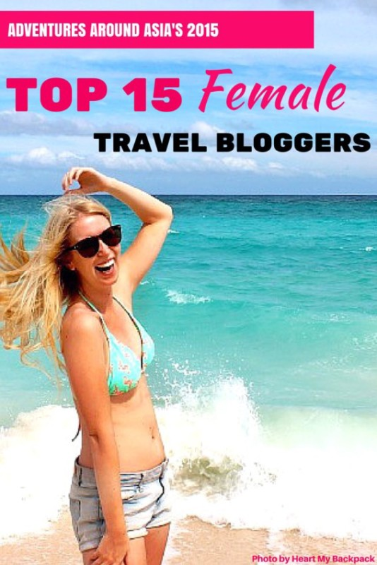 Best Female Travel Bloggers of 2015
