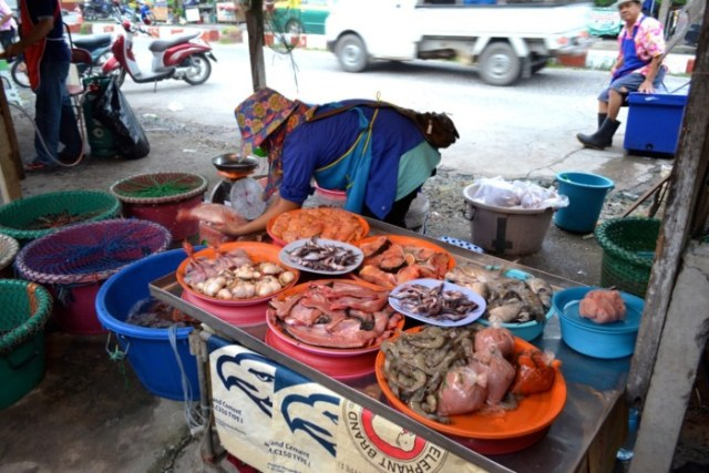 Bangkok local market