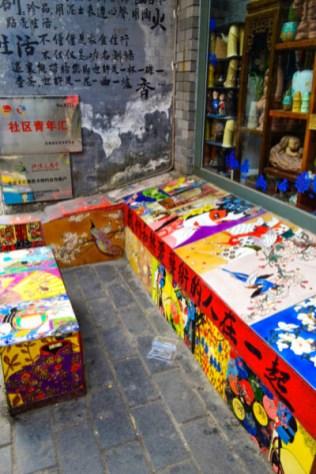Beijing hutong art