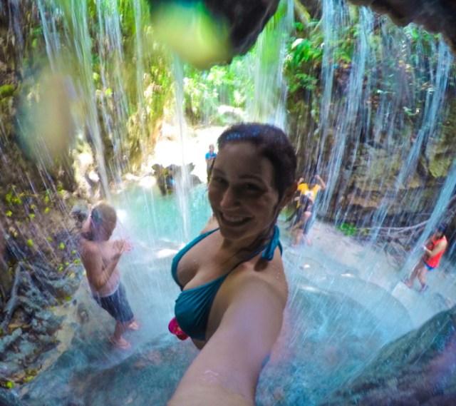 Oslob waterfall