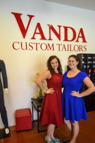 Custom dress Vietnam