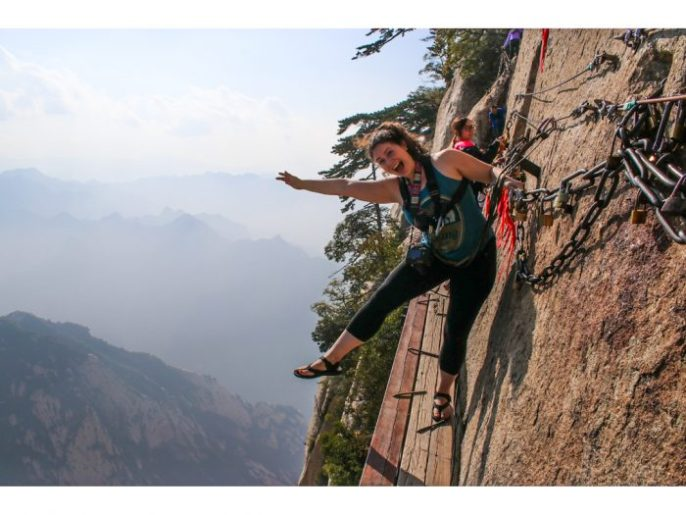 The Huashan Plank Walk: World's Most Dangerous Hike