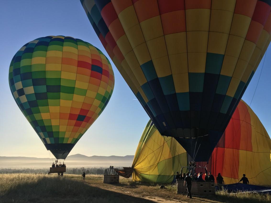 napa hot air balloons