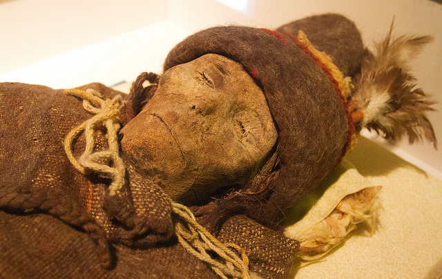 Caucasian Mummy