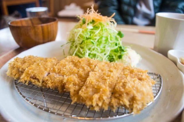 Japanese fired pork