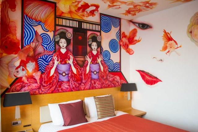 Park Hotel Geisha Goldfish