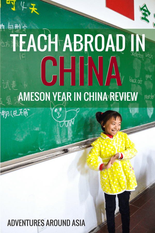 Do you wan to teach abroad in China but not sure which program to choose? Here's my review of Ameson Year in China, and how you can do better for your first year as an expat in China #China #teachabroad #expat #travel