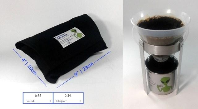 Travel coffee maker