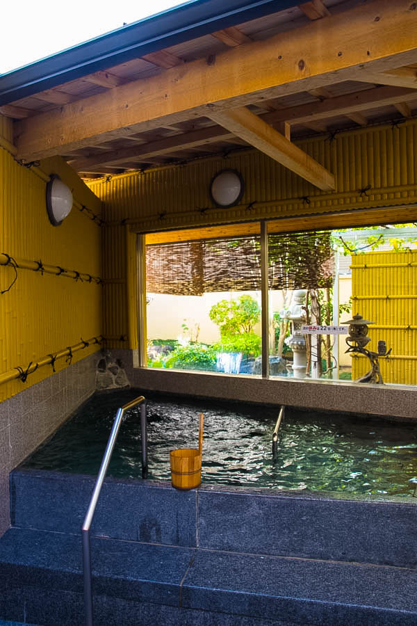 Outdoor onsen Japan
