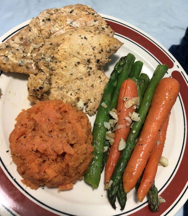 healthy dinner