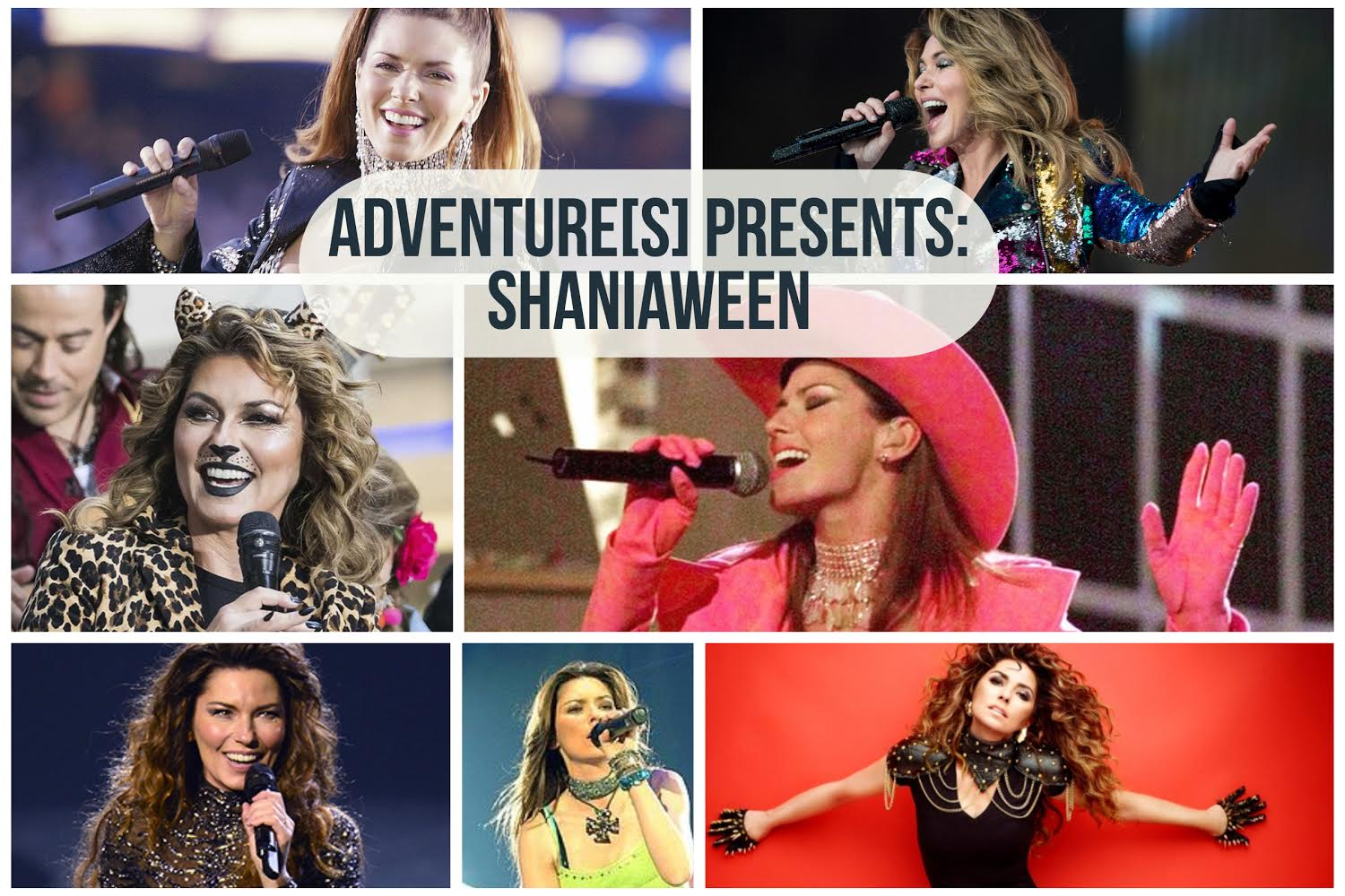This Party Does Impress You Much: Shaniaween! A pop-country Shania Twain Halloween Party!