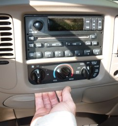 1991 chevy silverado radio wiring ford f 150 factory radio uninstall and new radio install rh adventuresindiy com 2014 f150 radio [ 1024 x 768 Pixel ]