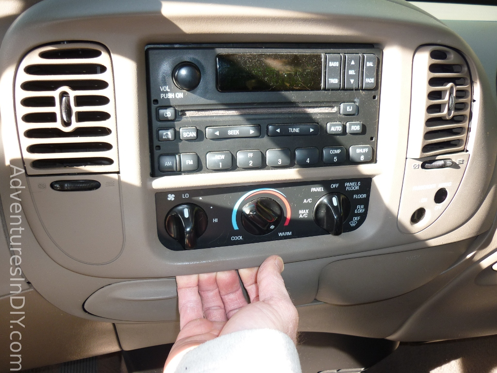 hight resolution of ford f 150 factory radio uninstall and new radio install rh adventuresindiy com 2014 f150 radio