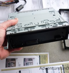 removing new radio installation bracket [ 1024 x 768 Pixel ]
