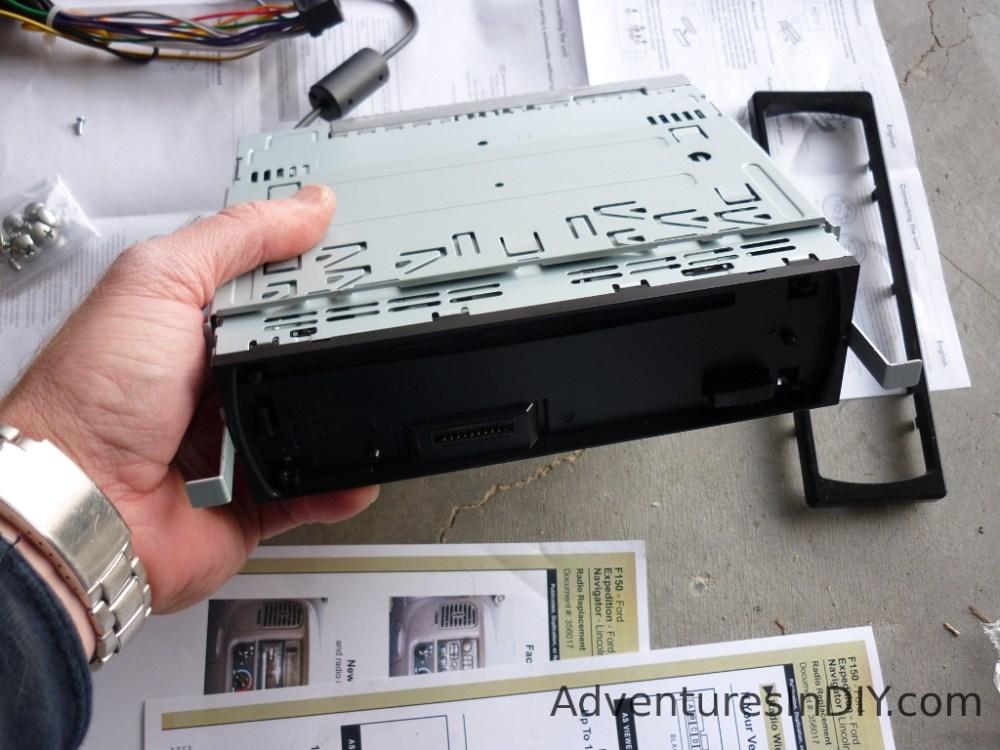 medium resolution of removing new radio installation bracket