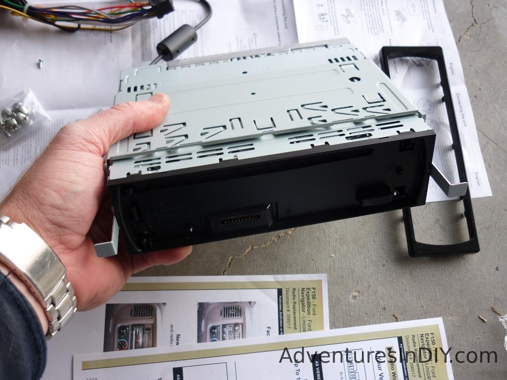 hight resolution of removing new radio installation bracket