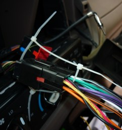 ford f 150 factory radio uninstall and new radio install cherokee radio wiring harness diagram 1995 f250 radio wiring harness color [ 1024 x 768 Pixel ]