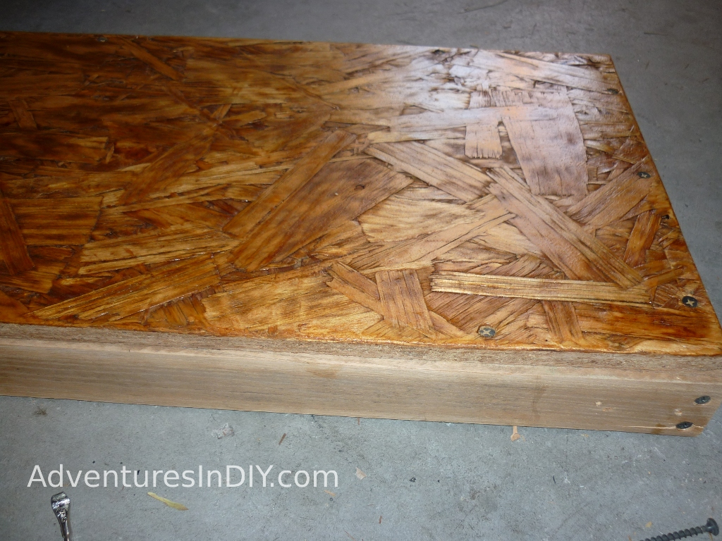 How To Stain Osb Board