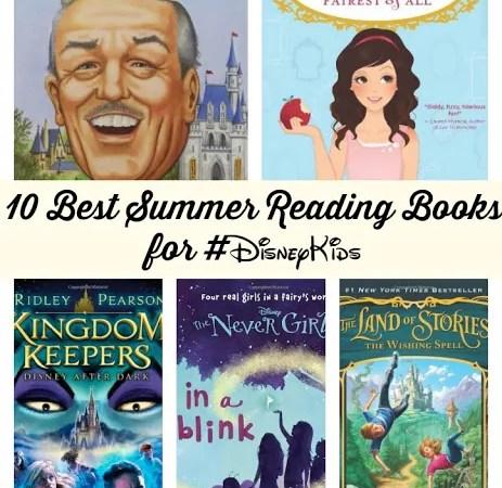 10 Best Summer Reading Books for #DisneyKids