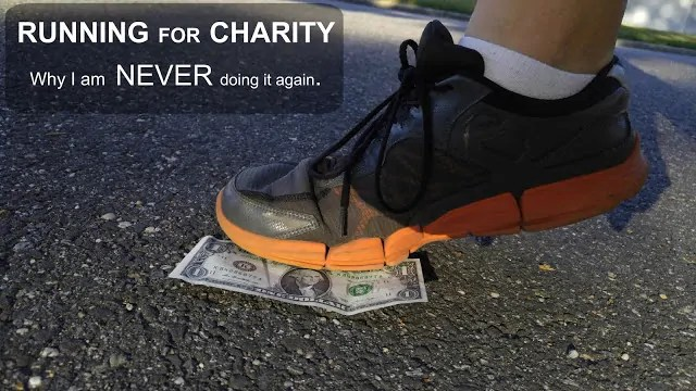 Running for Charity… Why I May Never Do it Again.