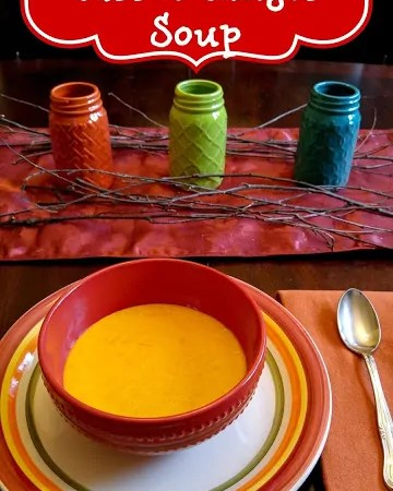 Boma's Carrot Ginger Soup