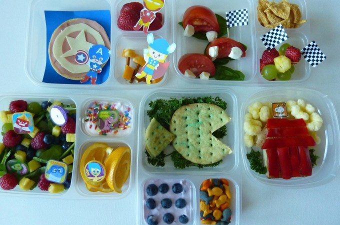 Put Some Character in Your Back to School Lunches