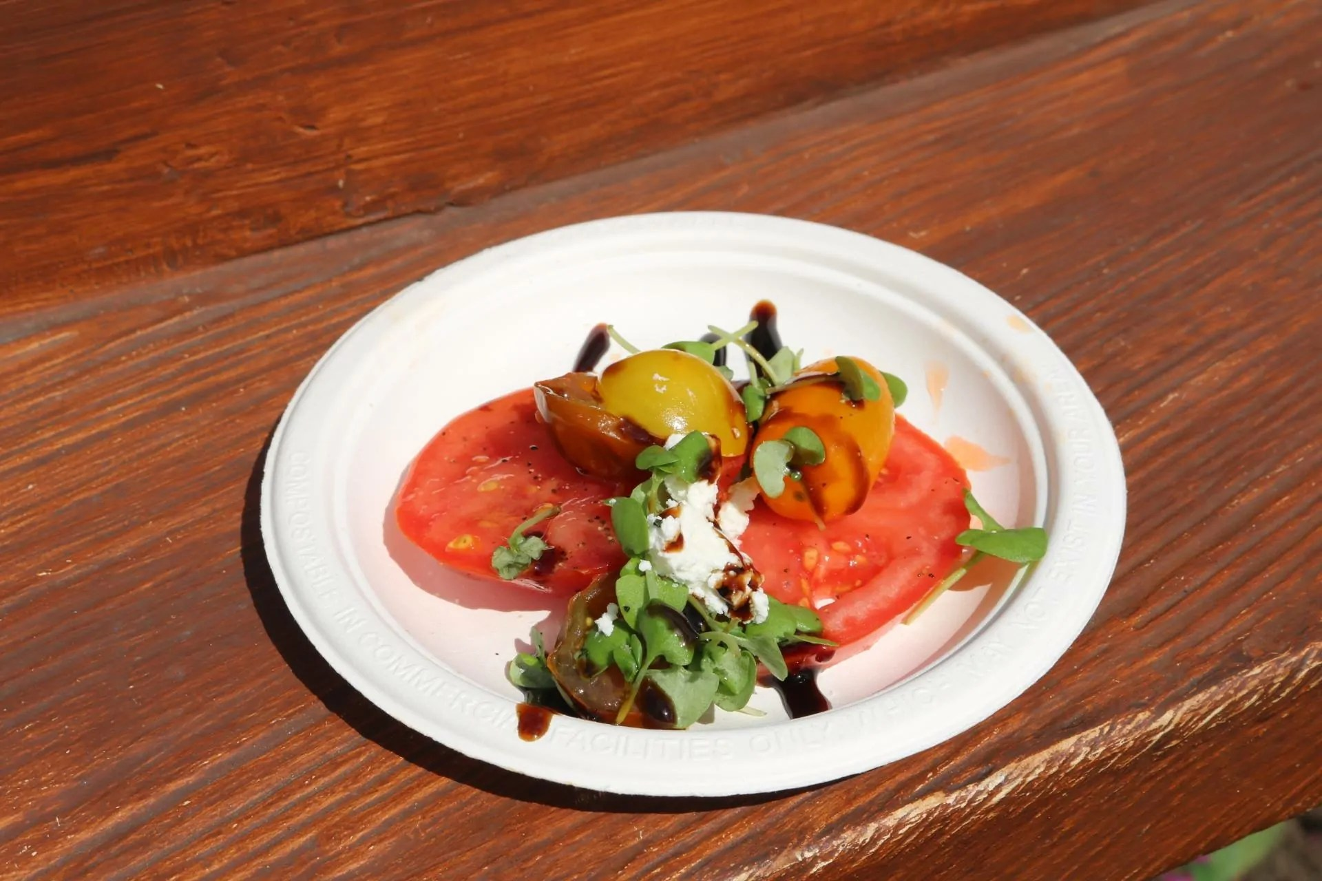 Heirloom Tomato Salad, Photo Credit Capturing Magical Memories