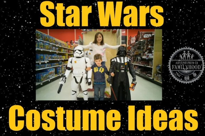 Star Wars Costume Ideas for the Whole Family