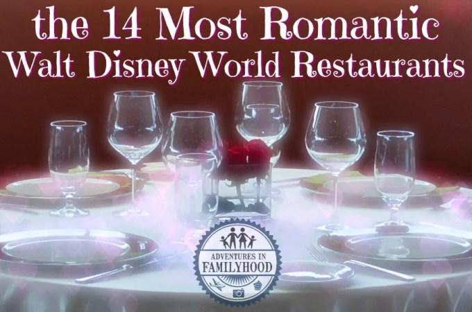 14 Most Romantic Restaurants in Walt Disney World
