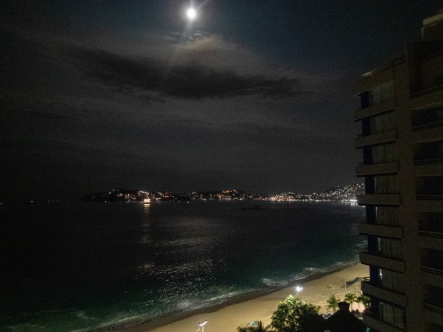 Nighttime in Acapulco