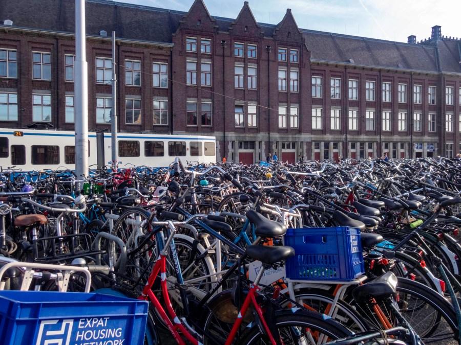 Amsterdam Centraal Train Station, Amsterdam, Netherdlands