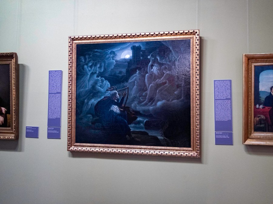 Painting, Hungarian National Museum, Budapest, Hungary