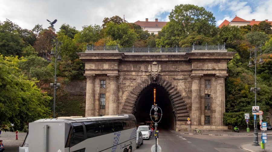 Tunnel Under Castle Hill, Budapest, Hungary