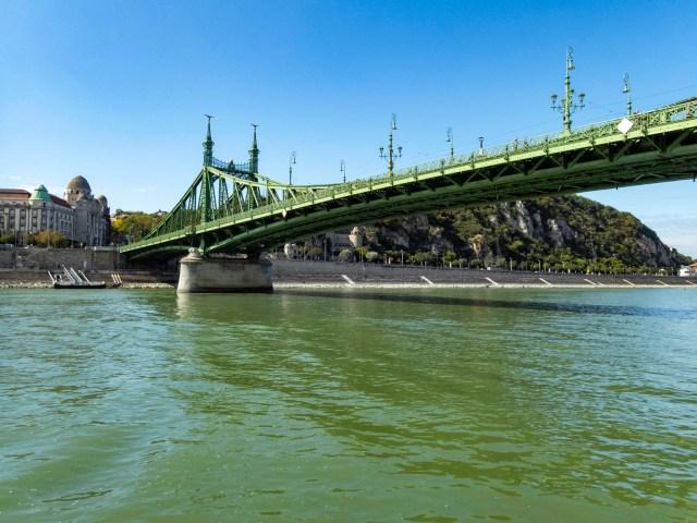 Petőfi Bridge, Budapest, Hungary