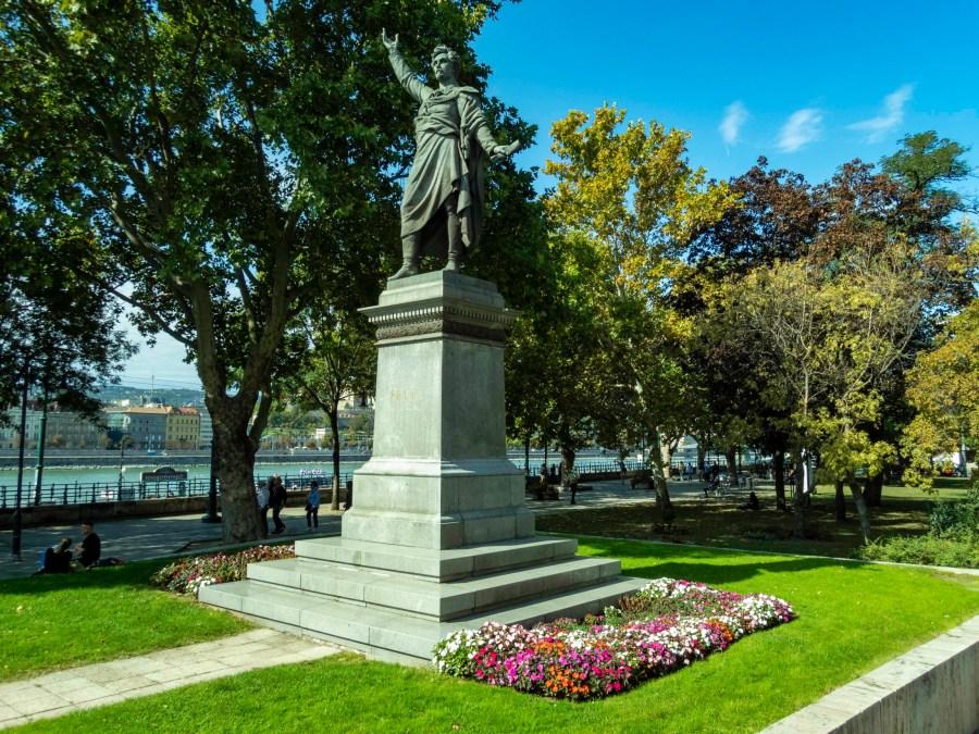 Statue, Budapest, Hungary