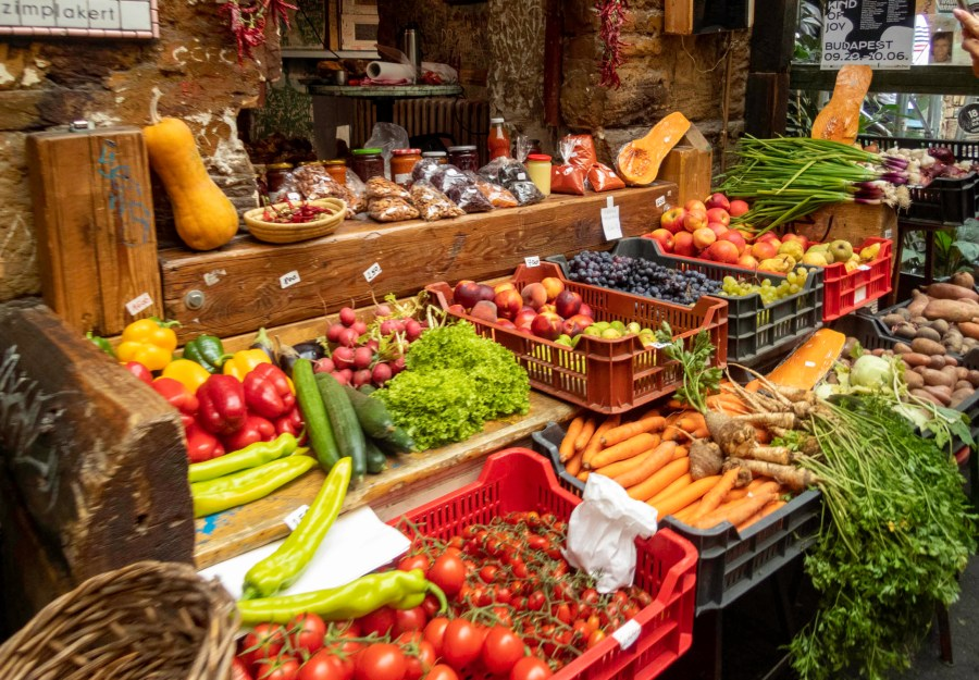 Market, Budapest, Hungary