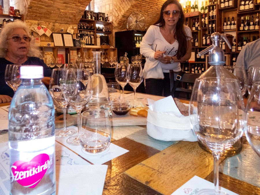 Wine Tasting, Budapest, Hungary