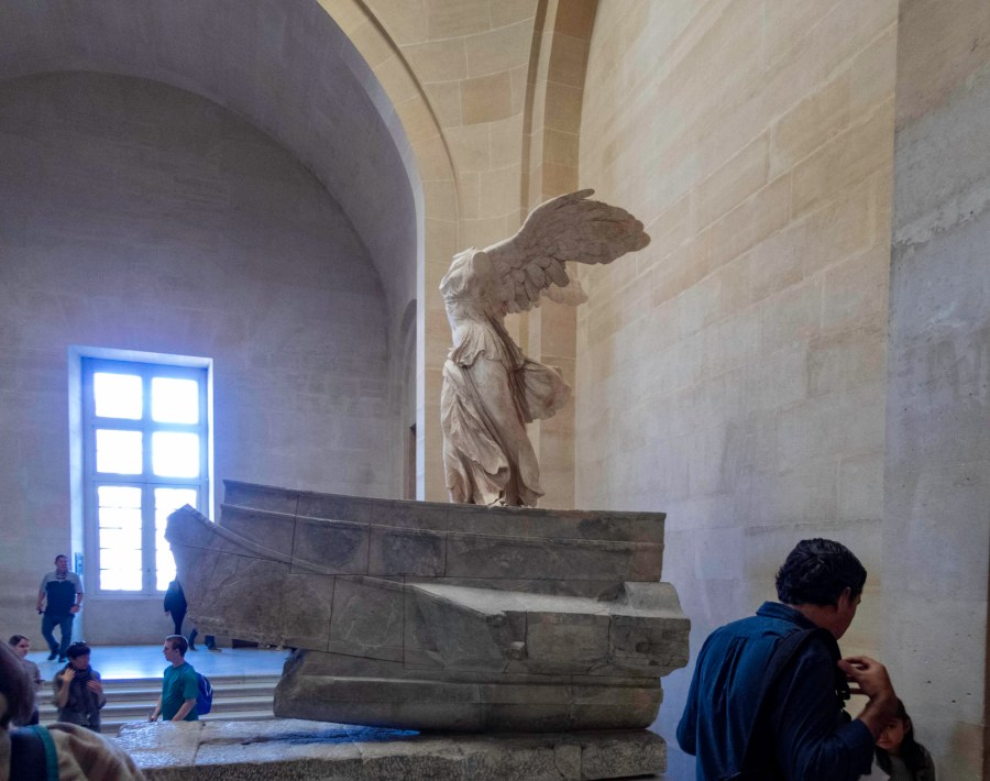 The Winged Victory of Samothrace, Louvre Museum, Paris, France