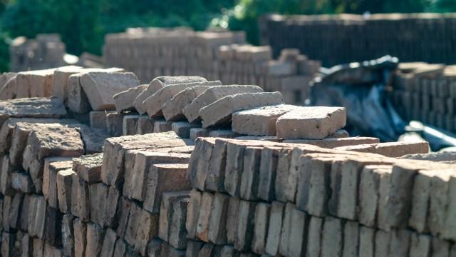 Brickworks outside Mazatlán