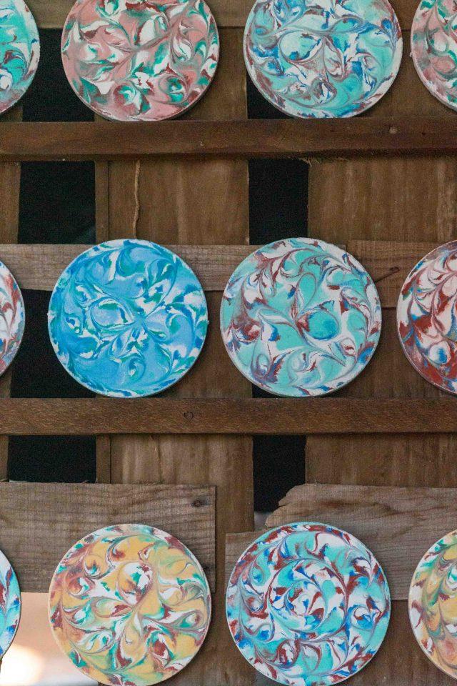 Ceramic shop in Malpica