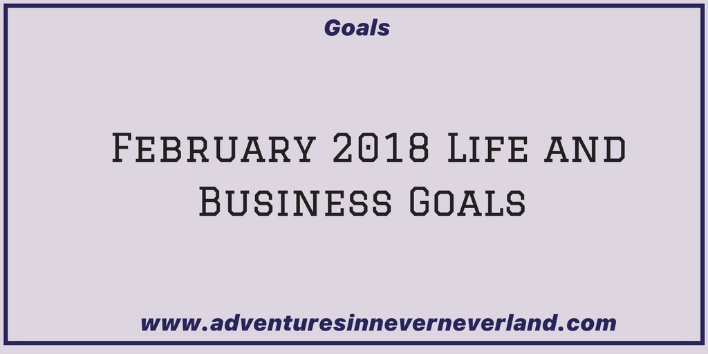 come and see what my February #goals ae