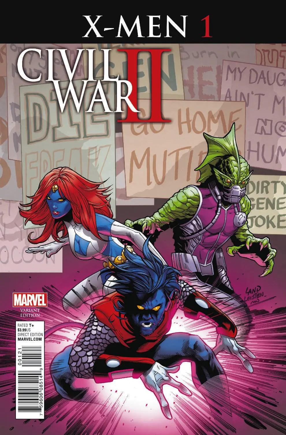 Civil_War_II_X-Men_1_Land_Variant