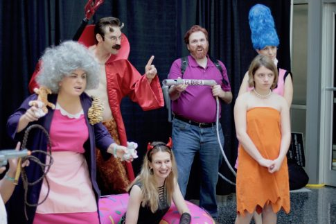 The Crazy Cat Lady, Devil Flanders, Hank Scorpio, Lisa, Fashionable Marge and the Forbidden Donut. Amazing.