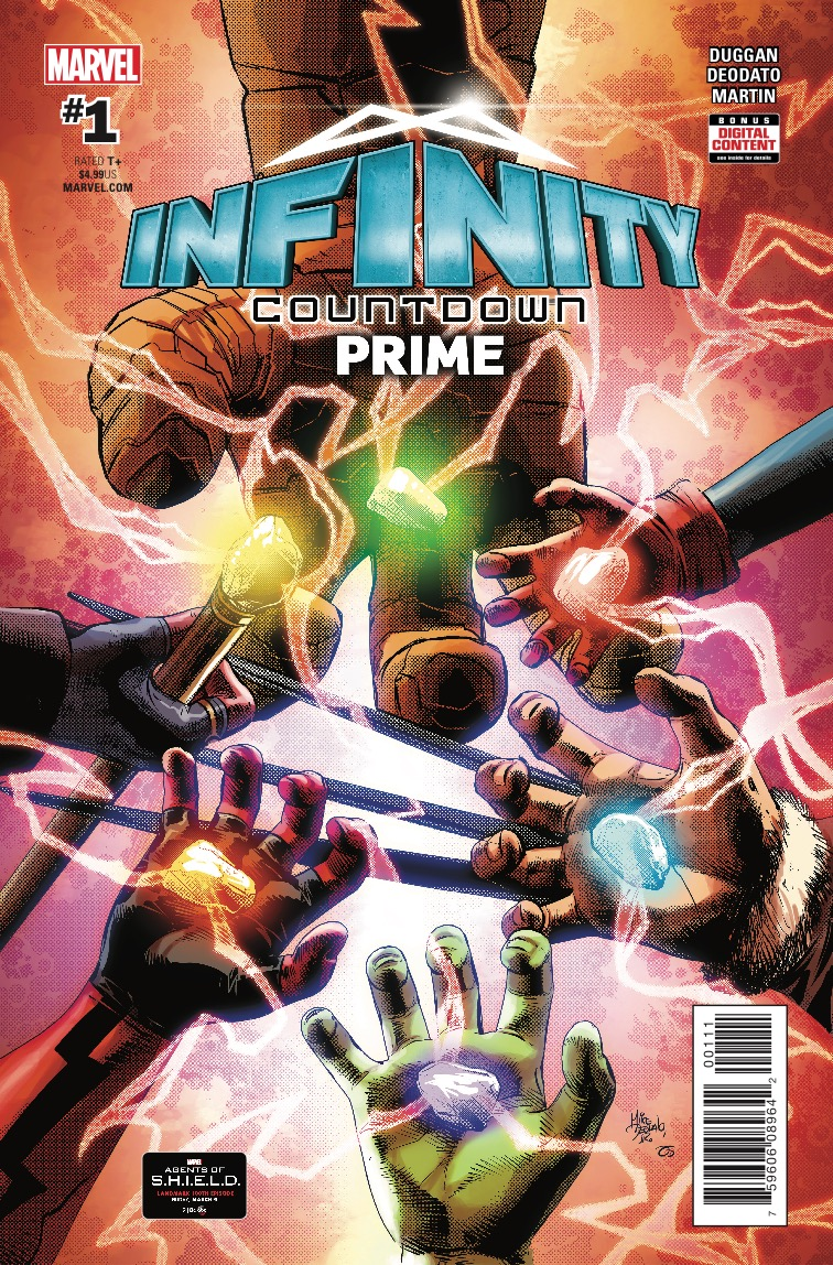 Infinity Countdown Prime #1 Review