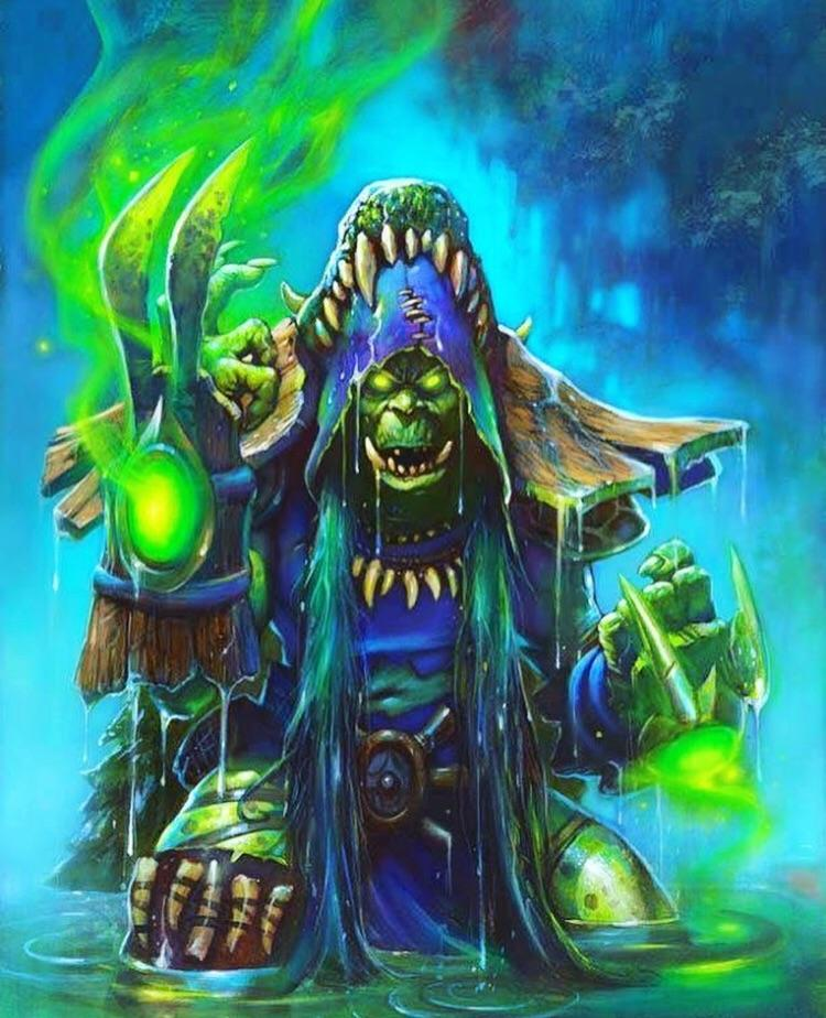 Hearthstone: Full art for upcoming Shaman legendary Hagatha the Witch revealed