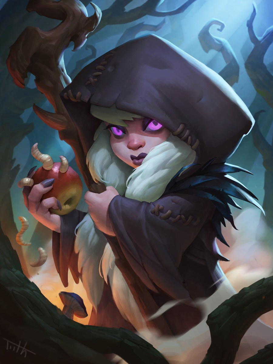 Hearthstone: Concept art reveals first look at new card from 'The Witchwood' expansion