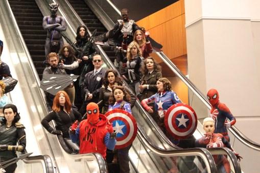 A sneak peak at the Marvel Meetup!