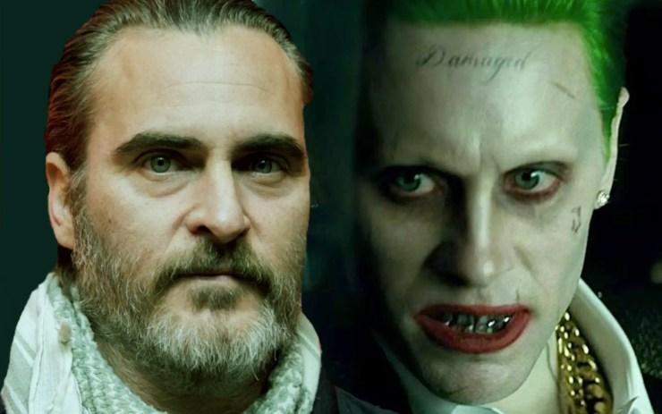 Joaquin Phoenix Jared Leto Joker